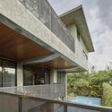 01 Balcony - Tresno House / RAW Architecture: Biệt thự hiện đại cây xanh và hồ bơi