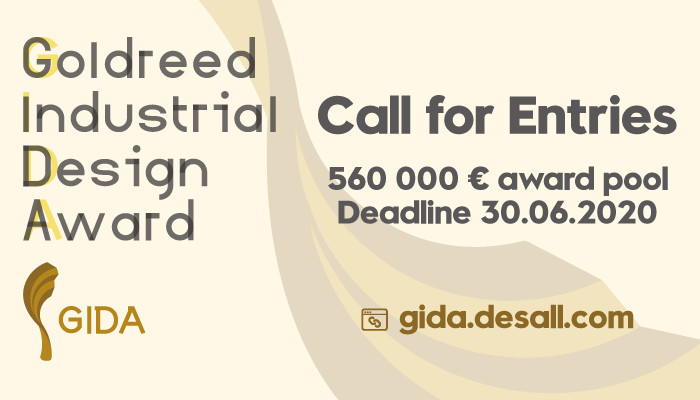 Goldreed Industrial Design Award 2020 (1st edition), GIDA 1st Edition