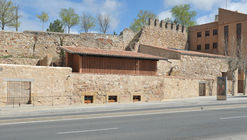 Restauración de tenadas y pozo de nieve del Convento de San Andrés / Sánchez Gil Arquitectos