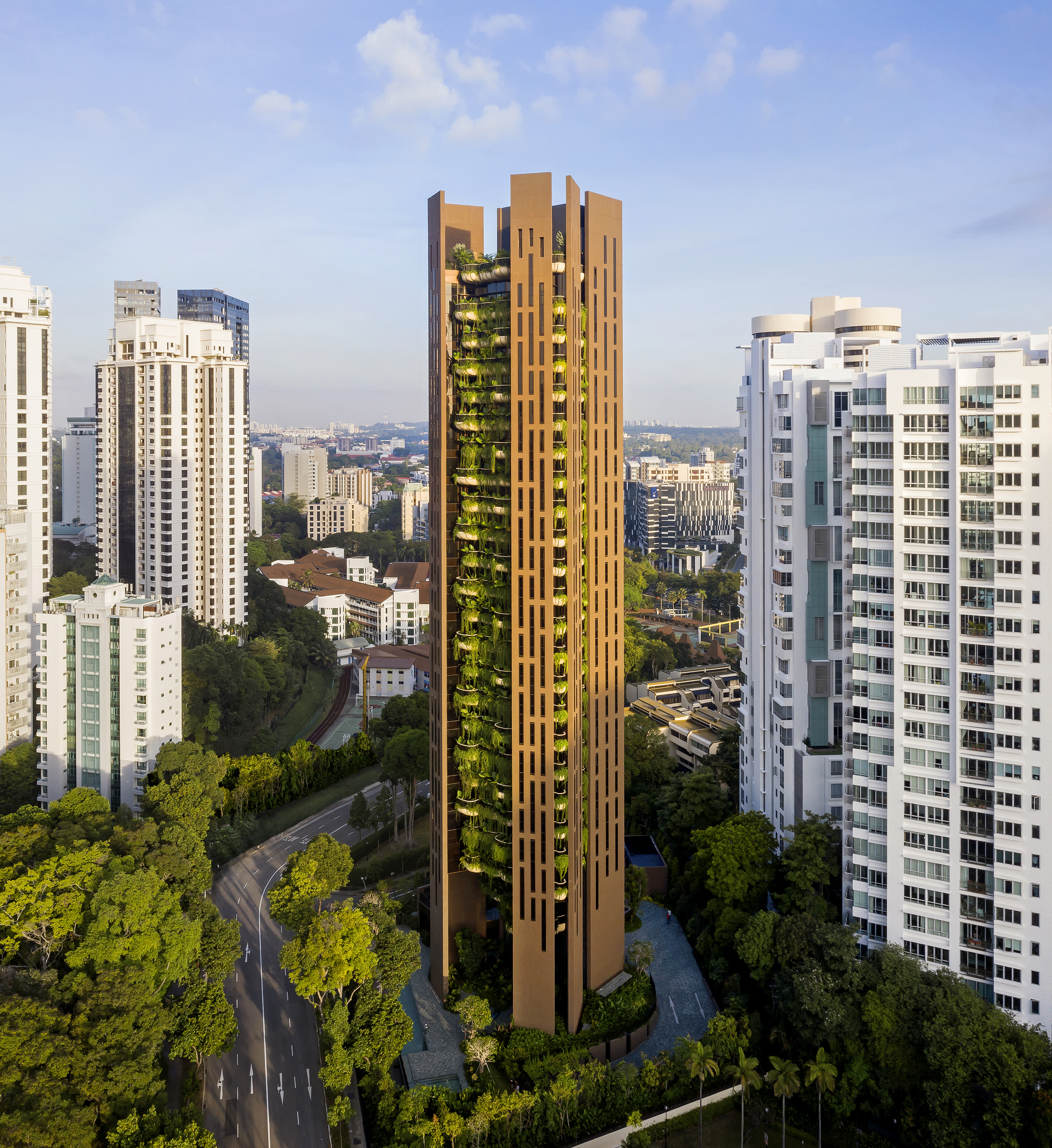 Apartments In Singapore: Gallery Of EDEN Singapore Apartments / Heatherwick Studio
