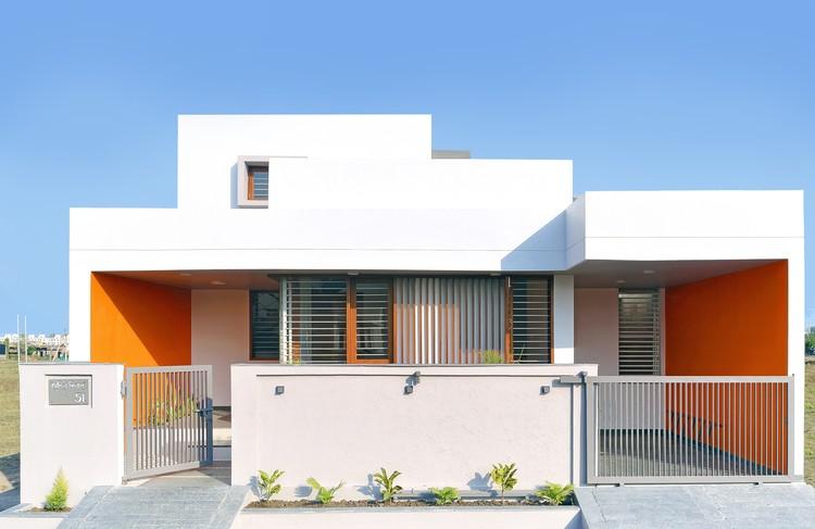 Orange House / Studio Habitect, © Pratik Panzade