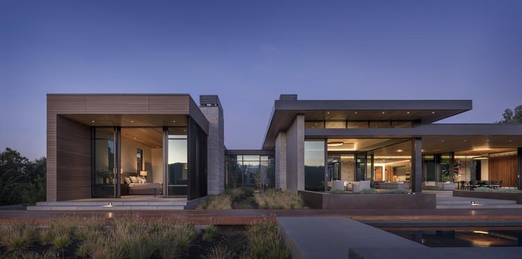 Portola Valley House / SB Architects, © Aaron Leitz