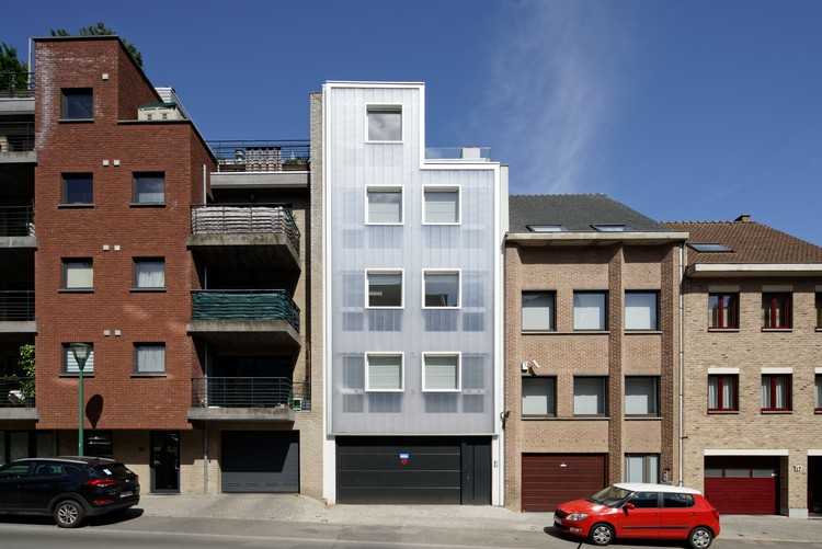 Korenbeek-161 Residential Building  / Sill and Sound Architects, © François Lichtle