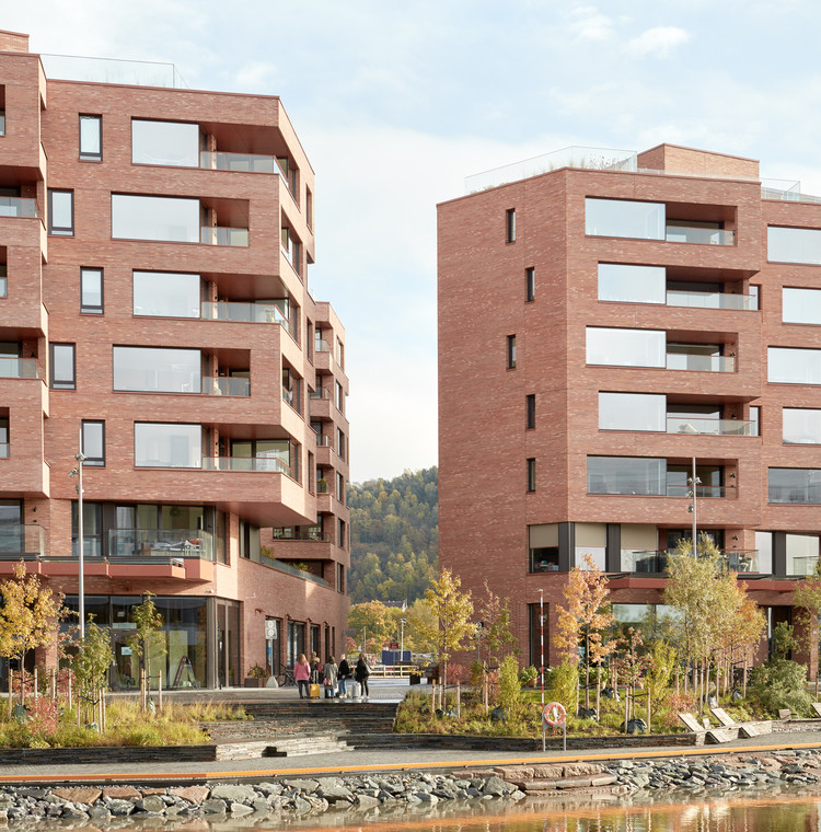 Complejo residencial Munch Brygge / Lund+Slaatto Architects, © Mariela Apollonio