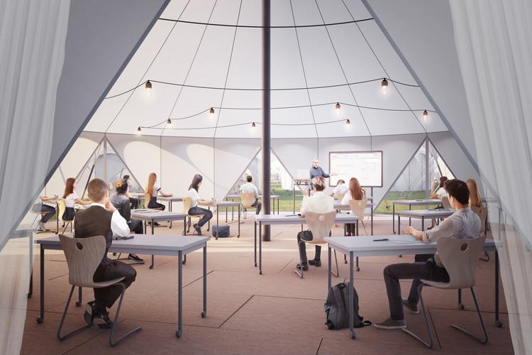 CLTH Proposes Adaptive Design for Schools post COVID-19, © Darc Studio