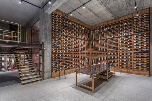 Vineria Wine Cellar / NS Studio
