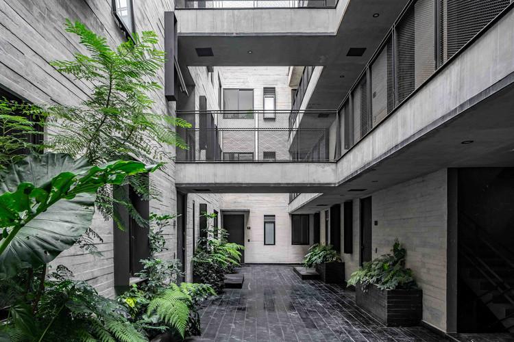 Edificio Tlacotalpan 89 / Wolff - Yapur, © Herman Schumacher