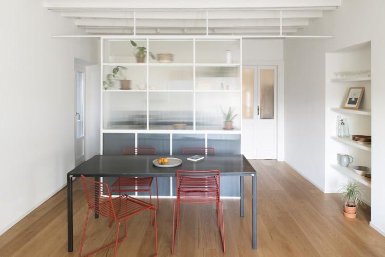 Casa di Ringhiera / studio wok, © Federico Villa studio
