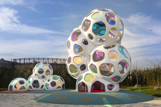 Marmara Forum Cloud Playground / Carve