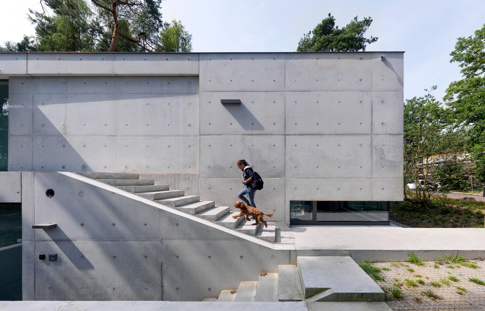 Tipos de encofrados para moldear el hormigón visto,House Zeist / Bedaux de Brouwer Architects. Image © Michel Kievitz