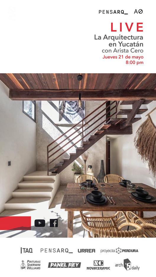 Sesión en vivo: La Arquitectura en Yucatán