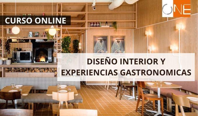Curso online de diseño interior para espacios de gastronomía, ONE arquitectura