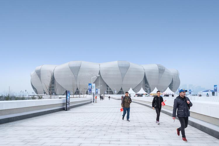 Centro deportivo olímpico Hangzhou / NBBJ, © Shao Feng