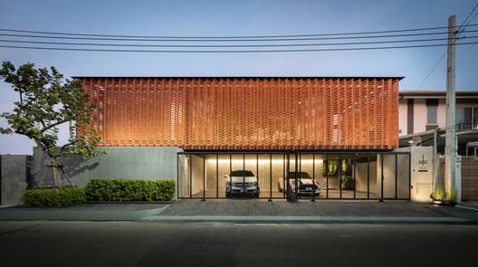 A Exterior 2 - Residência Sleepless / WARchitect