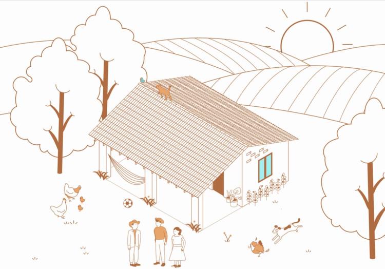 """Manual de Autoconstrucción: """"Reconstrucción Integral del Hábitat en Guendalizaa"""" por Comunal Taller de Arquitectura, © Comunal Taller de Arquitectura"""