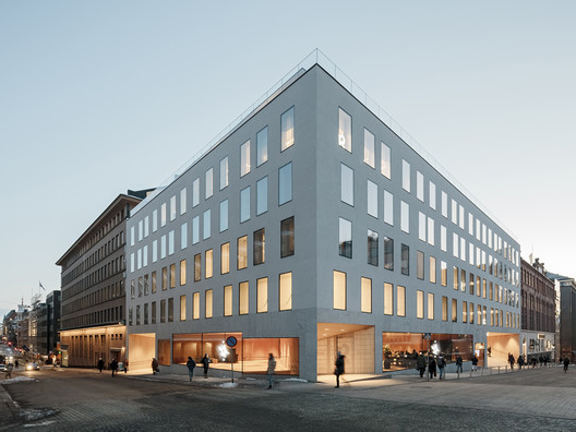 Think Corner Helsinki University / JKMM Architects