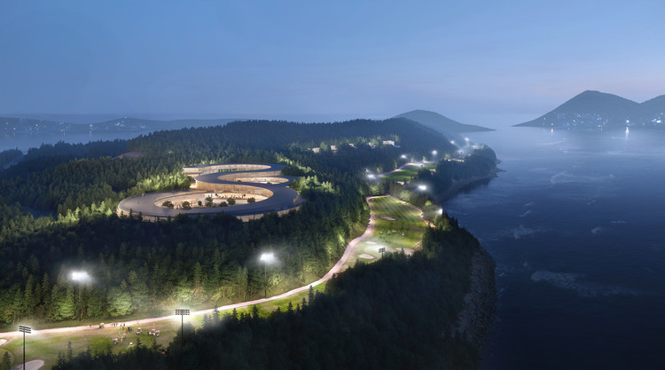 UNStudio Designs Gyeongdo Island, a new Sustainable Leisure Destination in South Korea, Courtesy of Plomp