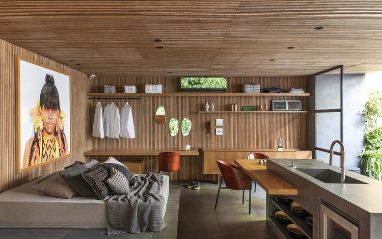 Oficina Mutante / Mariana Orsi Arquitetura + Design, © Felipe Araújo