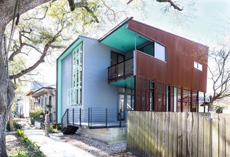 Arquitetura contemporânea e herança cultural em Nova Orleans, © Michael Wong