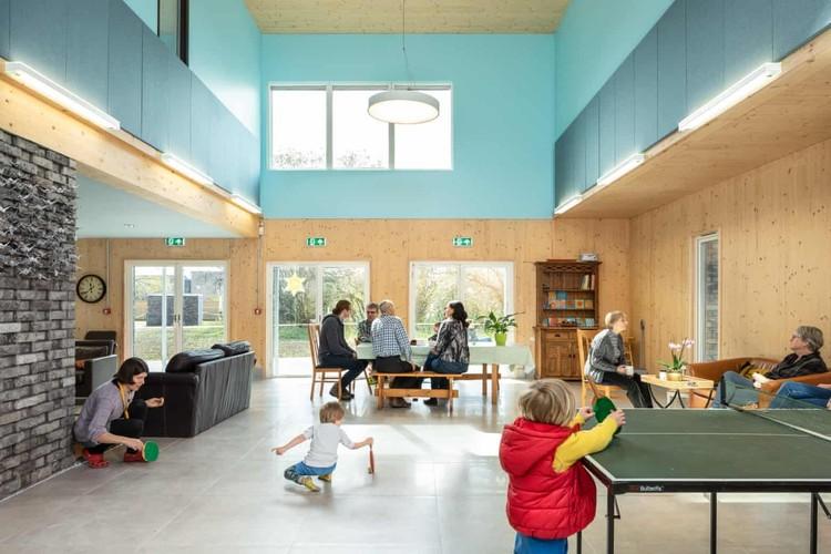 Arquitetura e economia circular na era dos espaços compartilhados, Exemplo de Co-living. Imagem © David Butler