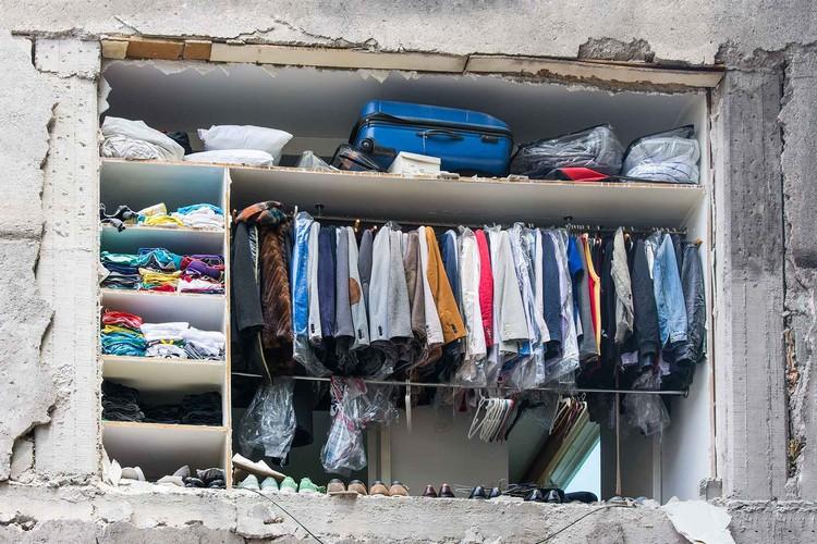 """La realidad """"permanente"""" de la vivienda de emergencia en México, © Daniel Almeida"""