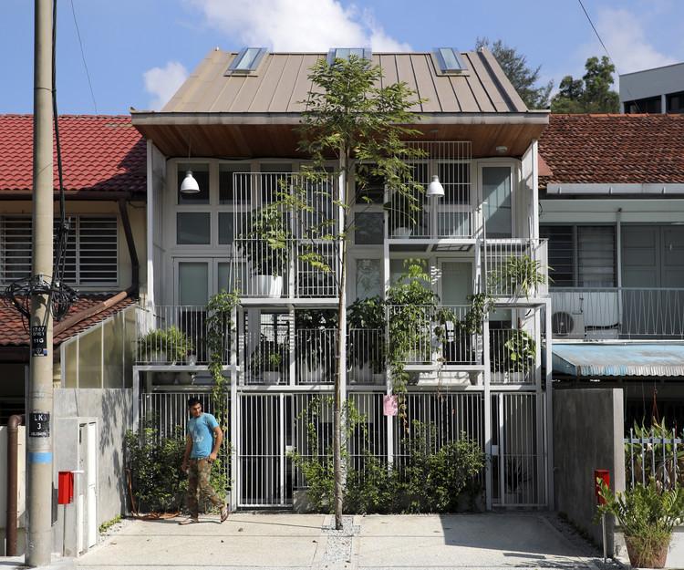 Twin House / Tetawowe Atelier, © Heart Patrick