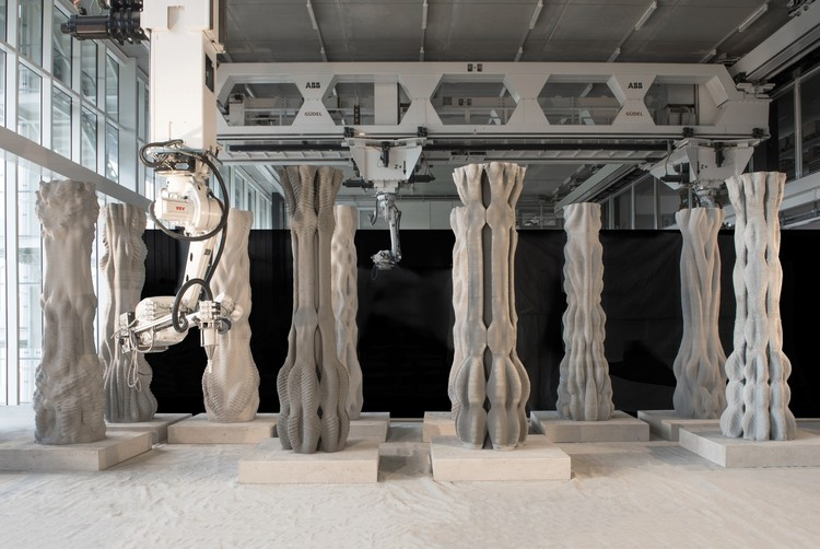 An Overview of Digital Fabrication in Architecture, Concrete Choreography. Image © Axel Crettenand