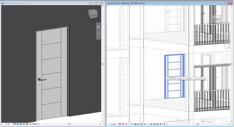 Claves en la planificación de un Objeto BIM: familia, © Autodesk