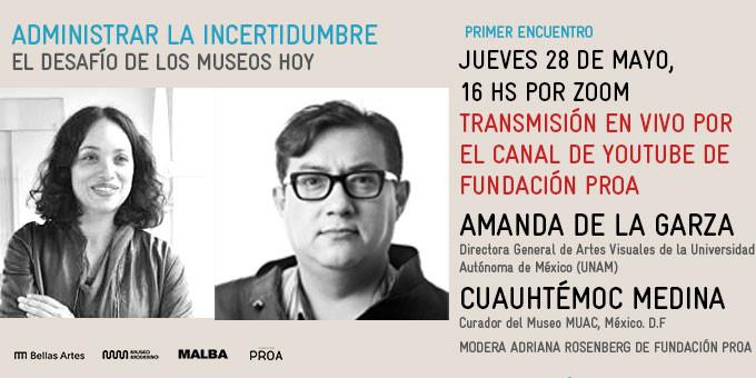 El desafío de los museos hoy: encuentros virtuales para repensar los espacios culturales, Cortesía de Fundación PROA