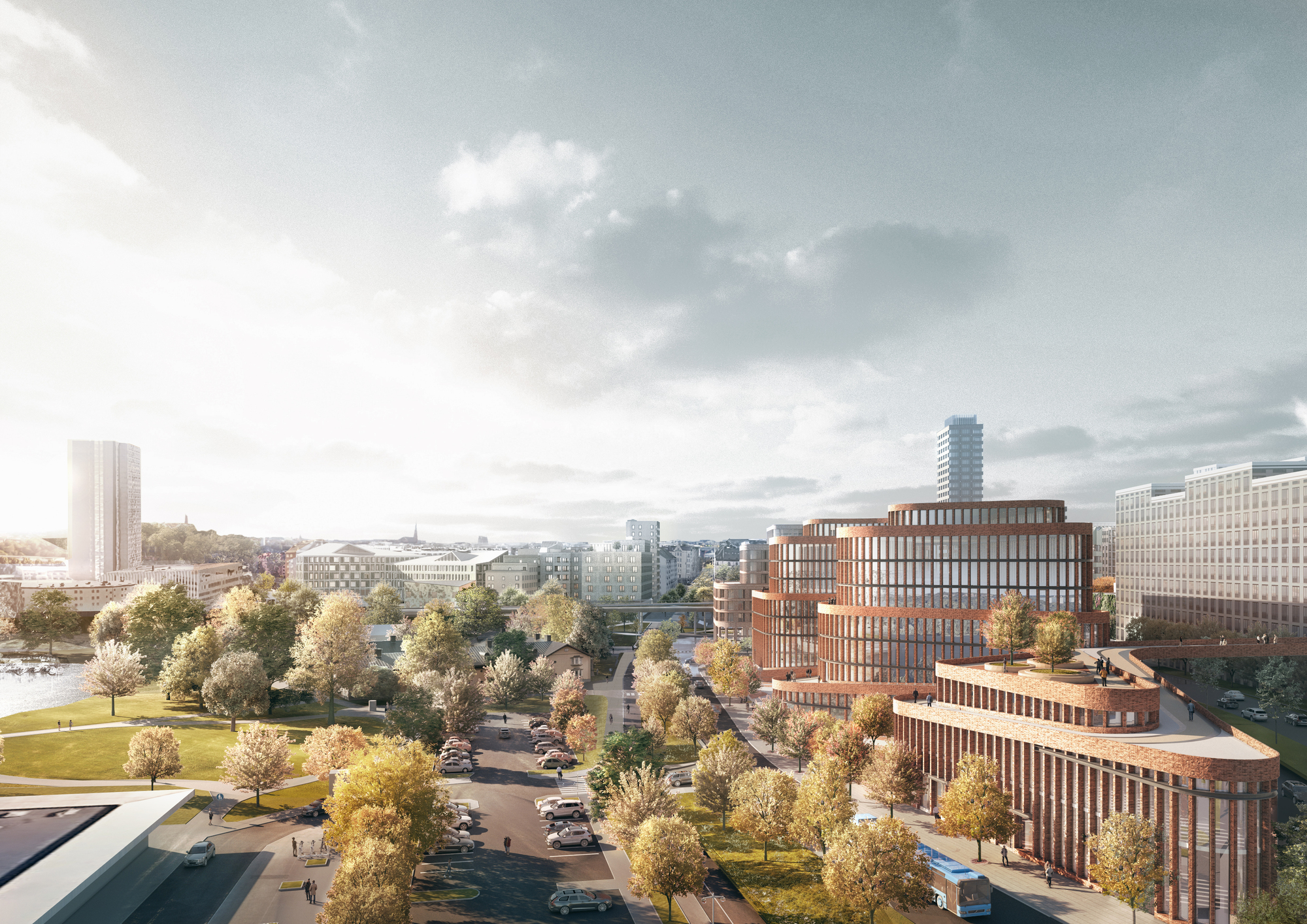 3XN Wins Competition to Design an Office Building in Stockholm