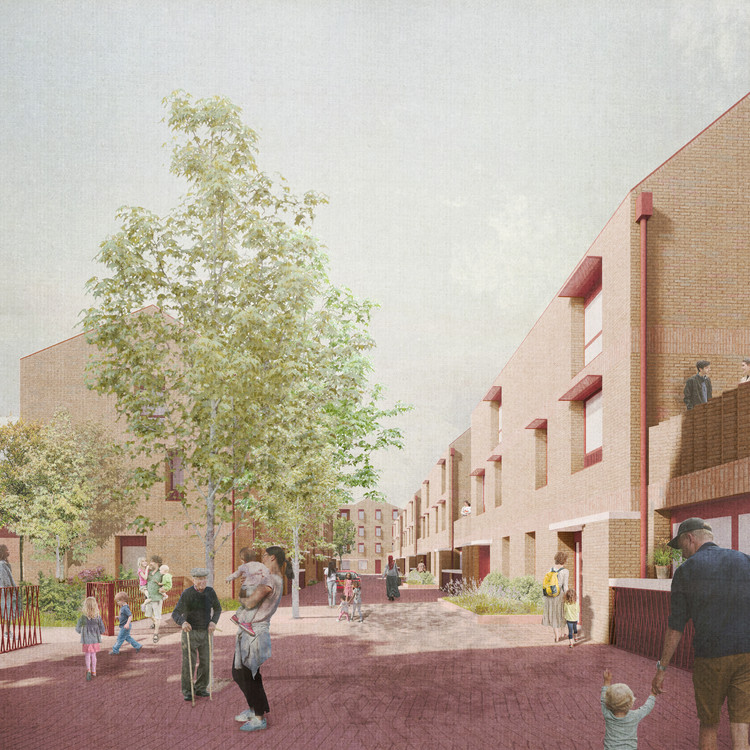 Morris+Company Receives Green Light for an Affordable Housing Project in Barking and Dagenham, Courtesy of Morris + Company