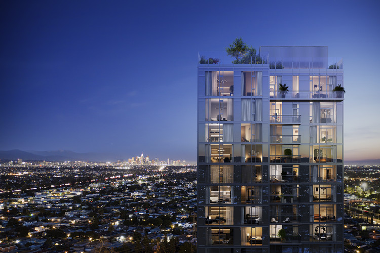 New 31-Story ARQ High Rise Set to Lease in West Los Angeles, Courtesy of Carmel Partners