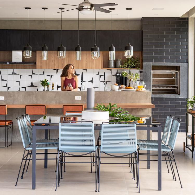 Casas en Brasil: 19 viviendas con cocina integrada