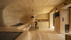 Wooden Cave / Tenon Architecture