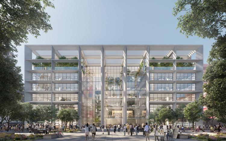 Foster + Partners diseña ICÔNE, un nuevo complejo de oficinas en Luxemburgo, Cortesía de Foster + Partners