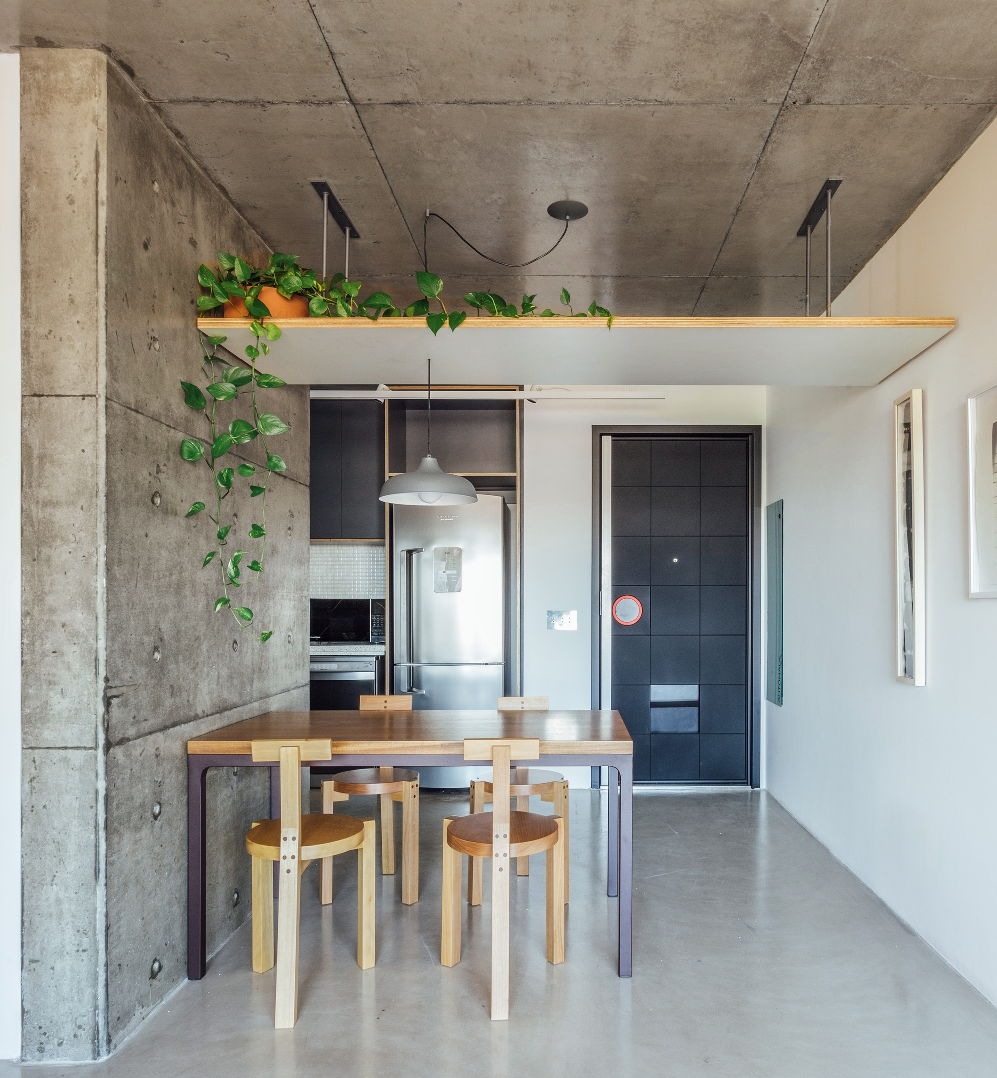 Mini Spa Da Casa aj apartment / coa associados | archdaily