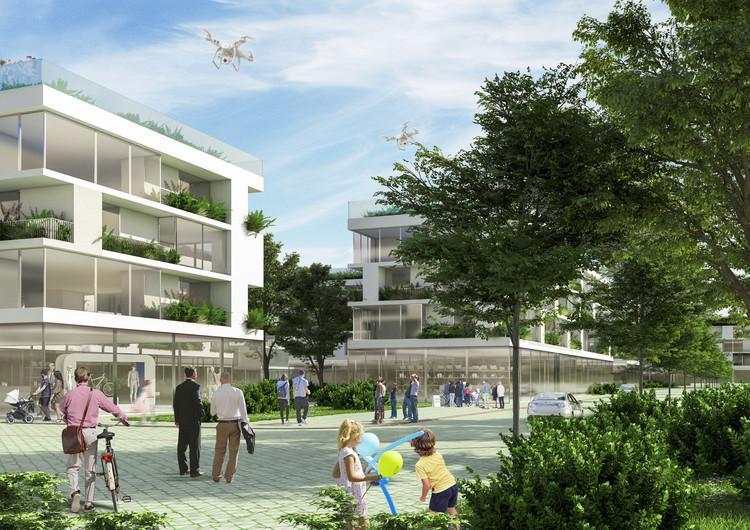 Bairro sustentável projetado por Stefano Boeri na Albânia começará a ser construído, Cortesia de Stefano Boeri Architetti
