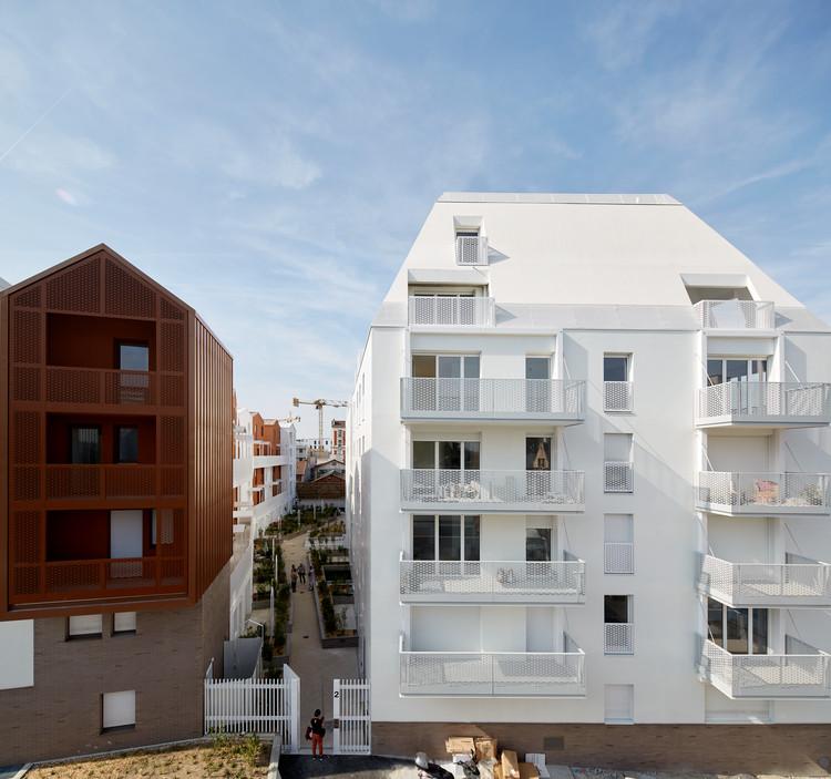 Edifícios Residenciais Cornerstone 71  / BFV ARCHITECTES, © Fréderic Delangle