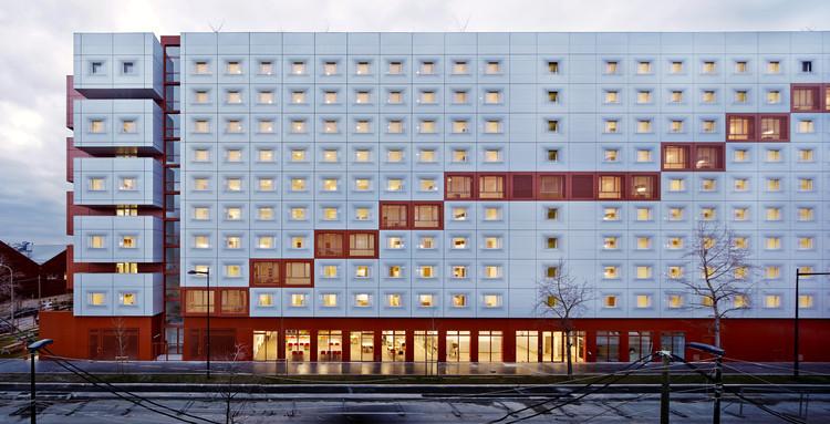 2en1 Students Halls / BFV Architectes, © Fréderic Delangle