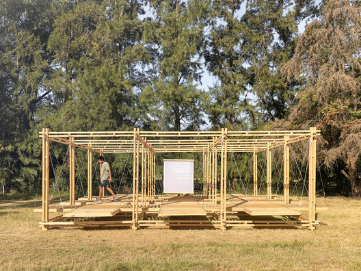 Ginga Pavilion / Giovanna Taques + Guilherme Schmitt