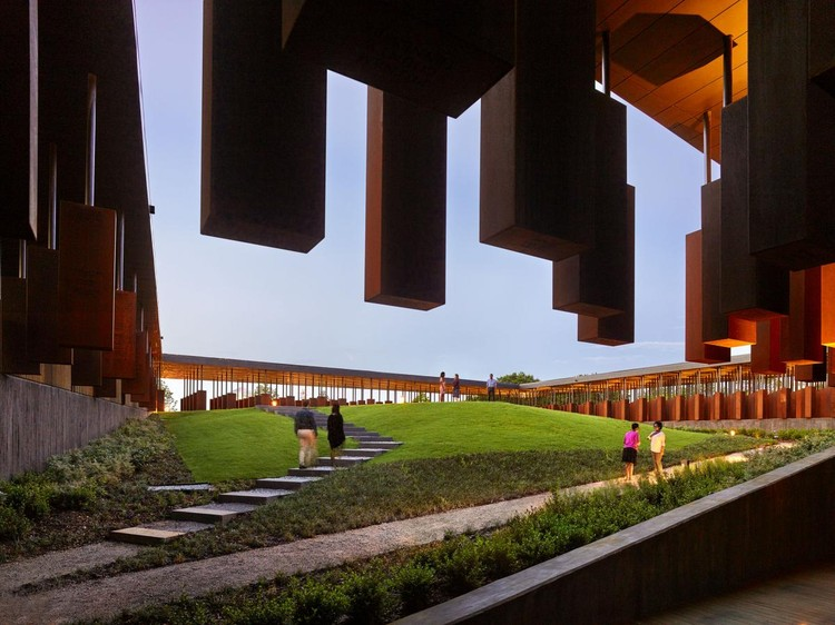 The National Memorial for Peace and Justice by MASS Design Group. Image © Alan Karchmer