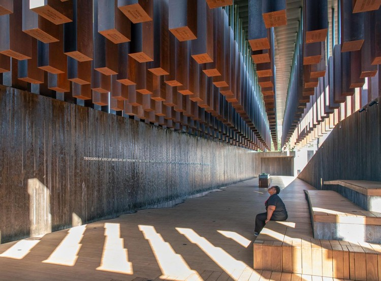 Social Impact: Architecture Building Space for Empathy, The National Memorial for Peace and Justice by MASS Design Group. Image © Alan Karchmer