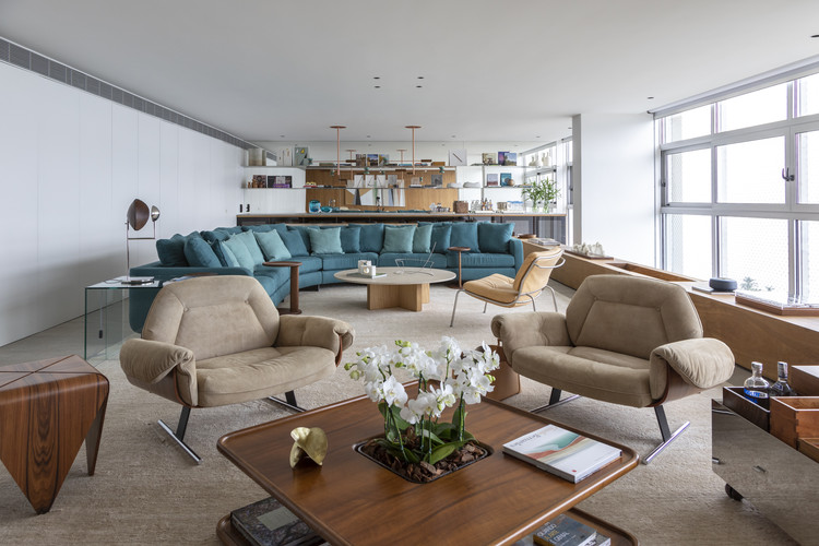 Apartamento CCM / Bernardes Arquitetura, © Ruy Teixeira