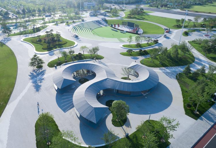 Pavilhão dos Leitores no Parque Cultural dos Cidadãos de Rongcheng / art+zen architects, © Mingming Fan