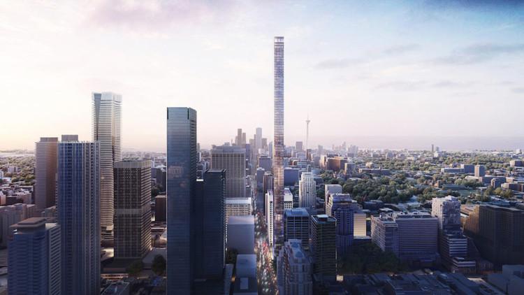 Herzog & de Meuron's New Toronto Tower Set to Become Canada's Tallest Skyscraper, Courtesy of Herzog & de Meuron