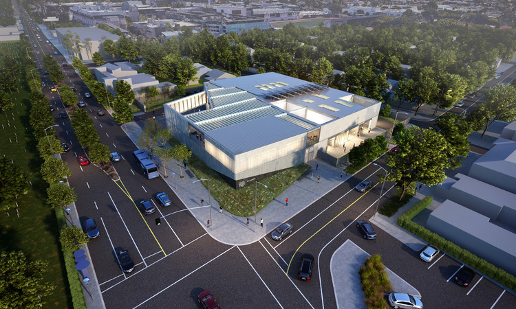 Grimshaw Unveils Initial Concepts of Santa Monica College Arts Complex in California, © Grimshaw