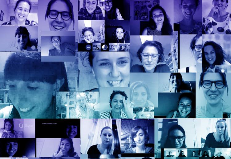 Rebelarchitette lanza un mapa público de mujeres arquitectas en todo el mundo, © rebelarchitette web