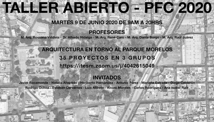 Proyectos Fin de Carrera - Arquitectura en torno al Parque Morelos