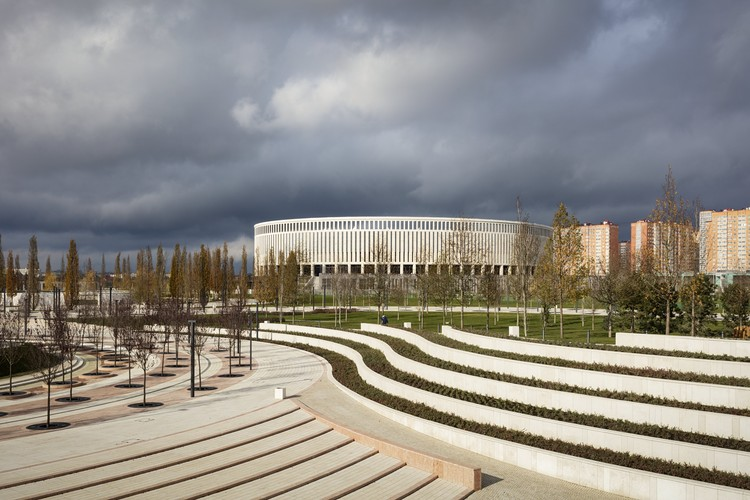 Krasnodar FC Stadium and Park / von Gerkan, Marg and Partners Architects (gmp), © Marcus Bredt