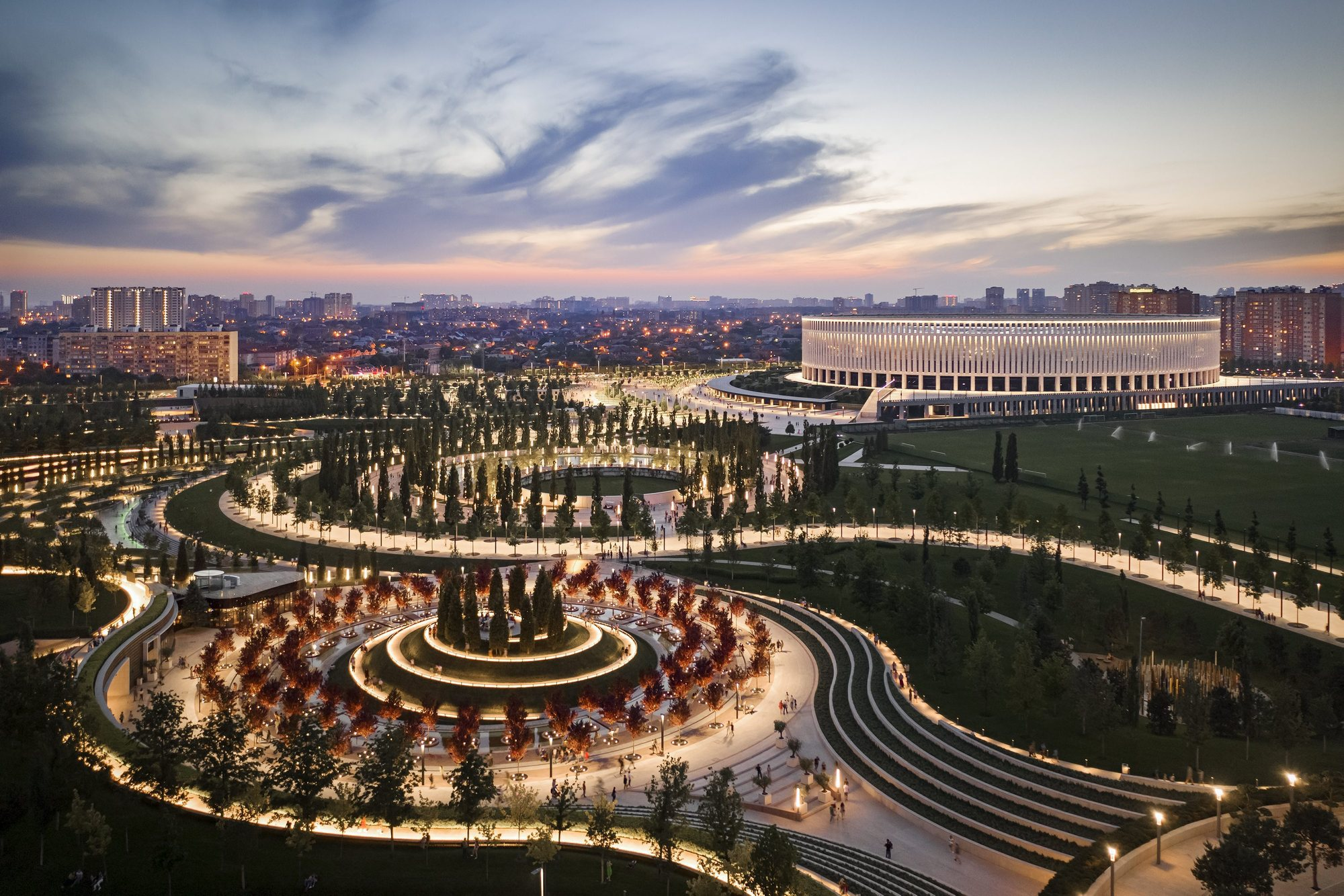 Gallery Of Krasnodar Fc Stadium And Park Von Gerkan Marg And Partners Architects Gmp 12